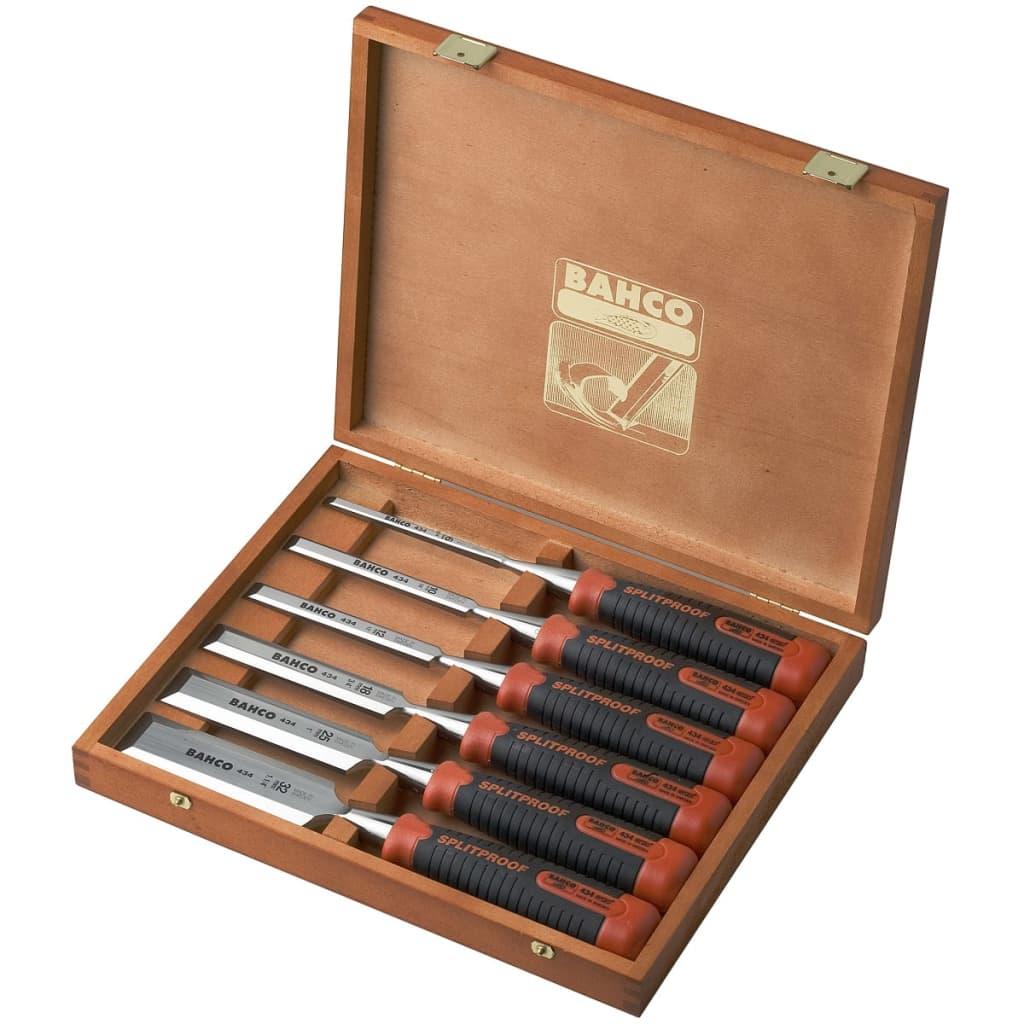 Afbeelding van BAHCO Beitelset in houten doos 6-delig 434-S6-EUR