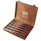 BAHCO Set of 6 Chisels in Wooden Case 424P-S6-EUR