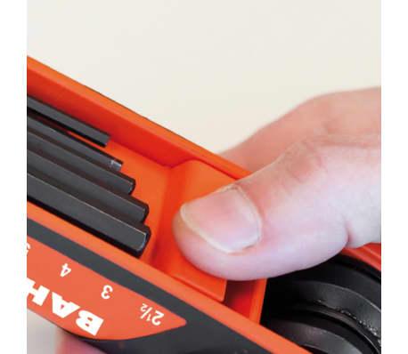 BAHCO Zestaw składanych kluczy szesnastkowych, 7 szt, BE-9777B[2/2]