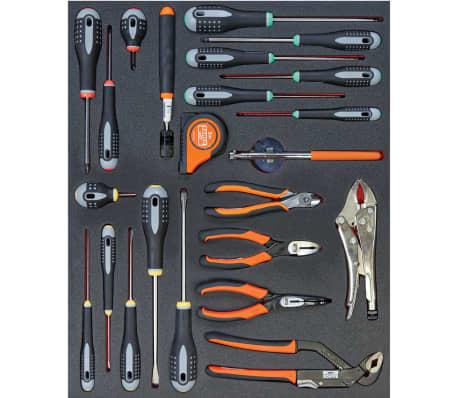 8dd191d406a2 Shop BAHCO værktøjskiste med 176 værktøjer og 7 skuffer