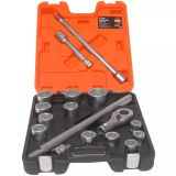 BAHCO Hylssats 17-delar 3/4 tum drivtapp SLX 17