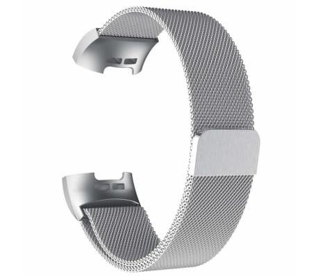 Bracelet Fitbit Charge 3/4 Milanese - argent - L