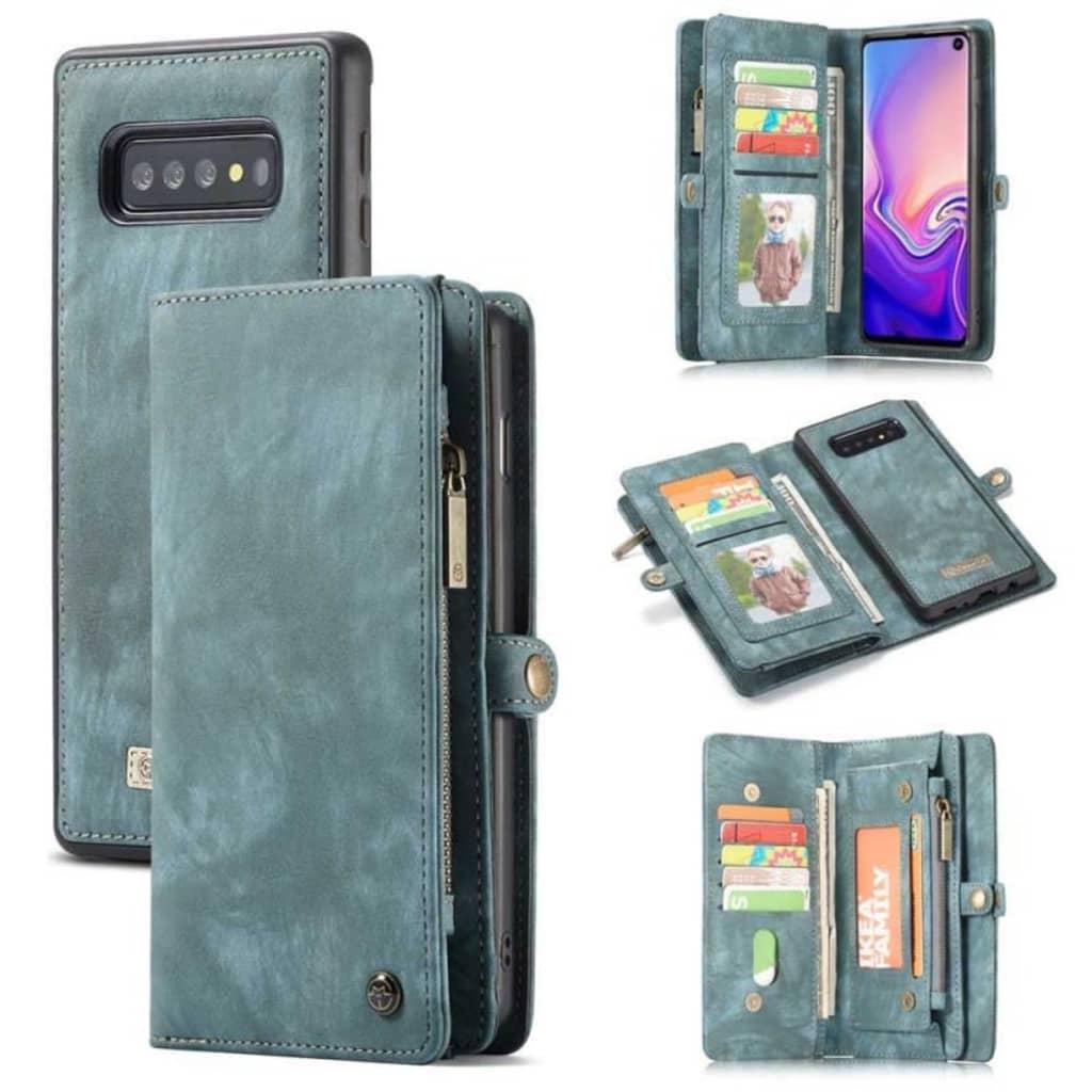CaseMe Multiplånbok 11-kort Samsung Galaxy S10 (SM-G973F) Blå