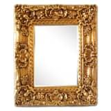 Ram i guld, innermått 30x40 cm