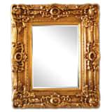 30x40 cm eller 12x16 tum, klassisk ram i guld