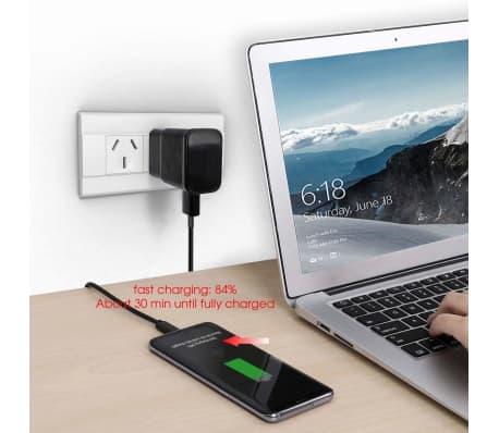 USB C Type C Laddare & synkl Snabbladdning