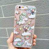 Glittrig Unicorn - Iphone 7