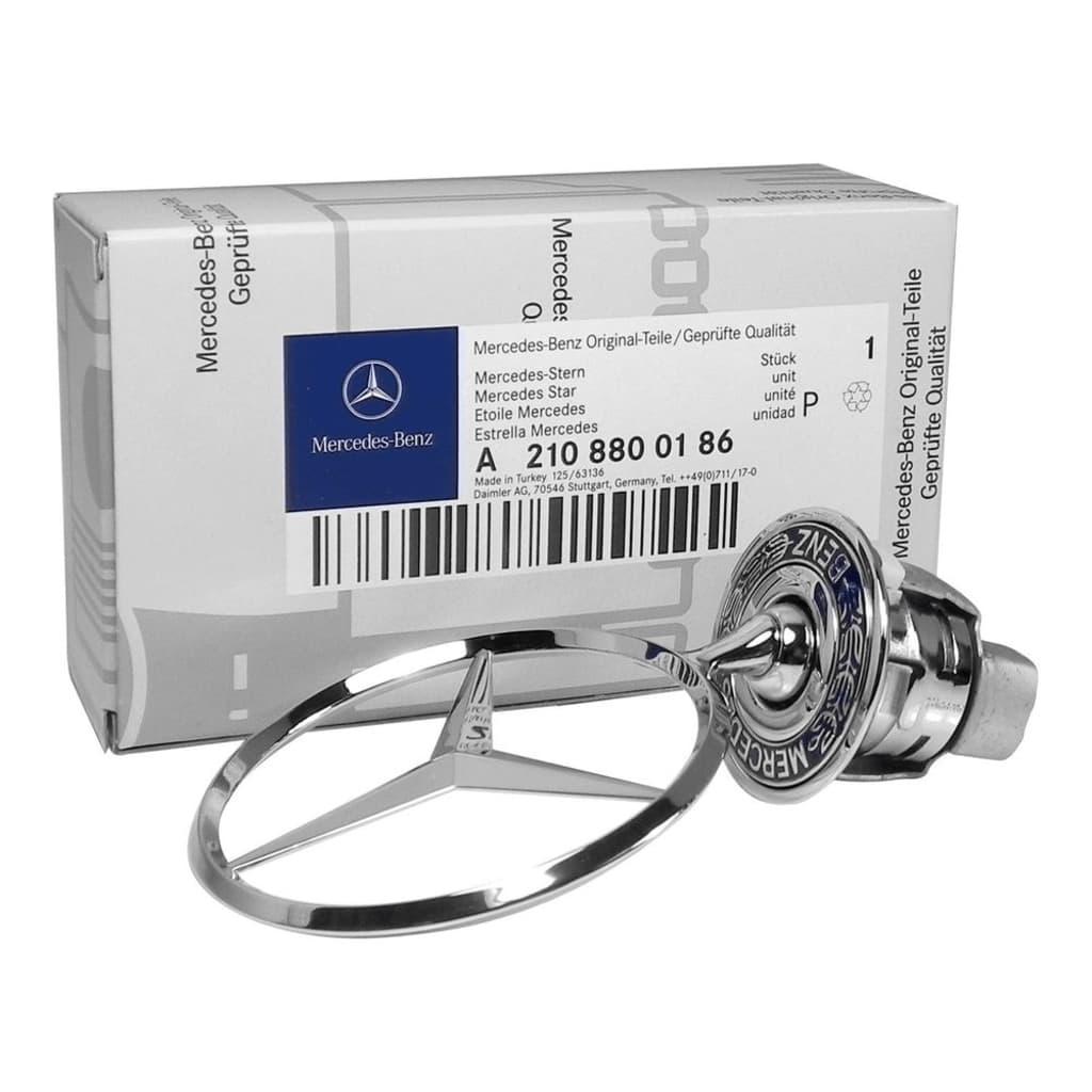 Tech of sweden Mercedes-Benz huvstjärna Emblem OEM A2108800186