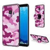 NXE Samsung Galaxy S9 TPU-Skal - Kamouflage - Rose