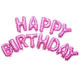 Happy Birthday Stora ballonger - Rose