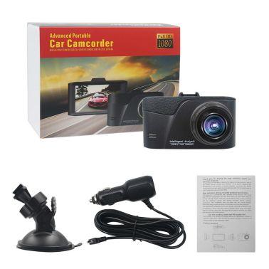 "CT611 1080P Full HD Bilkamera / CarCam 3"" LCD DVR G-Sensor HDMI[7/8]"