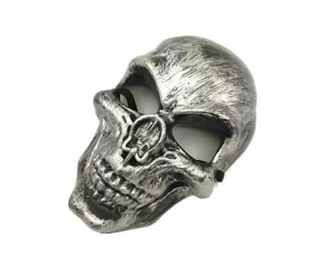 Dödskalle Purge mask maskerad fest party halloween - Silver