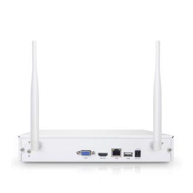 STORT övervakningssystem i WiFi. 8x kameror på 1.3 Megapixel ute/inne[3/5]