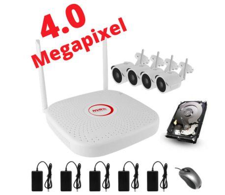 Övervakningssystem i otroliga 4.0MP. WiFi & NVR i H.265 komprimering![1/1]