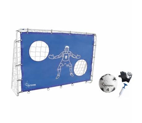 Outgame Fotbollsmål 183x122cm Komplett