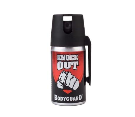 Bodyguard Knock Out v.2, Förblindar och Färgar - Röd