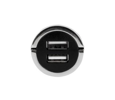Champion Dual USB Laddare 12/24V 4.2 Sv, Bil[5/5]