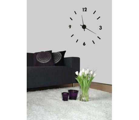 wanduhr schwarz gr sse 60 cm g nstig kaufen. Black Bedroom Furniture Sets. Home Design Ideas