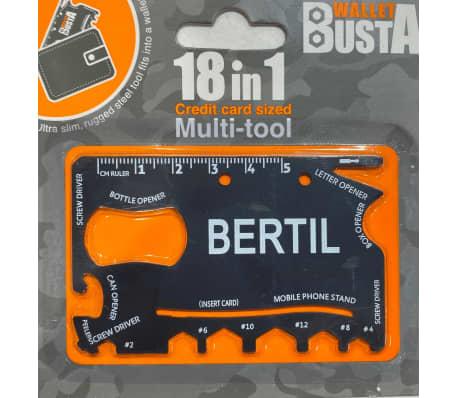 Joker Multitool Multiverktyg BERTIL kreditkort betalkort