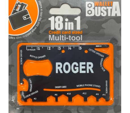 Joker Multitool Multiverktyg ROGER kreditkort betalkort