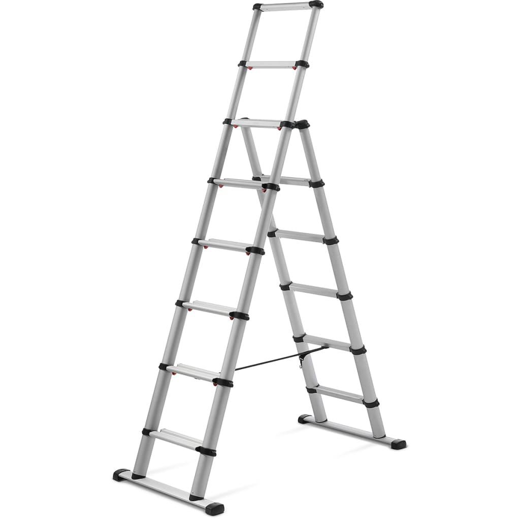 """Telesteps Scară din aluminiu """"Combi Line"""" 2,3 m 60623-501 vidaxl.ro"""