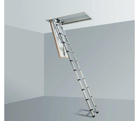 Echelle télescopique pour toit 2,5-3 m noir[2/4]