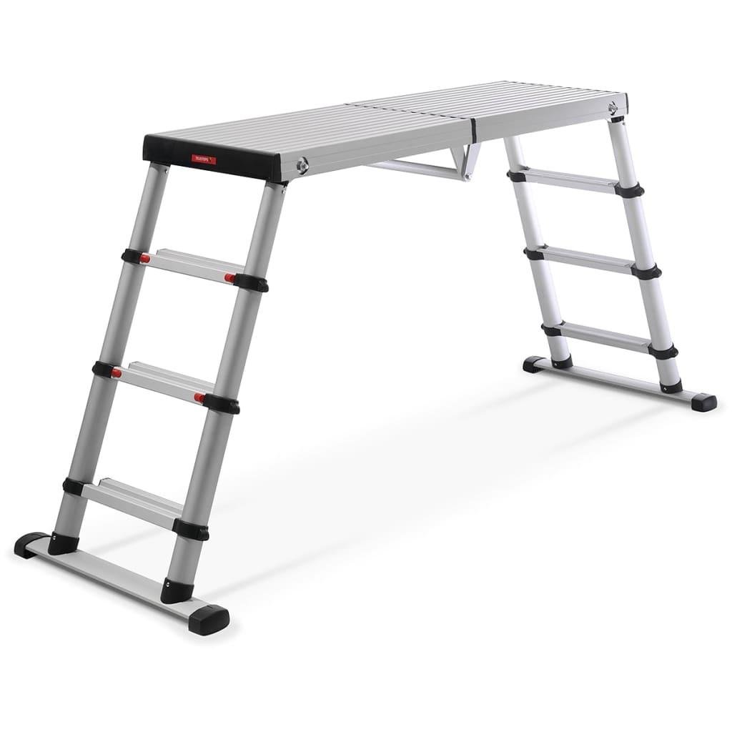 Afbeelding van Telesteps Black Line Werkplatform Ladder