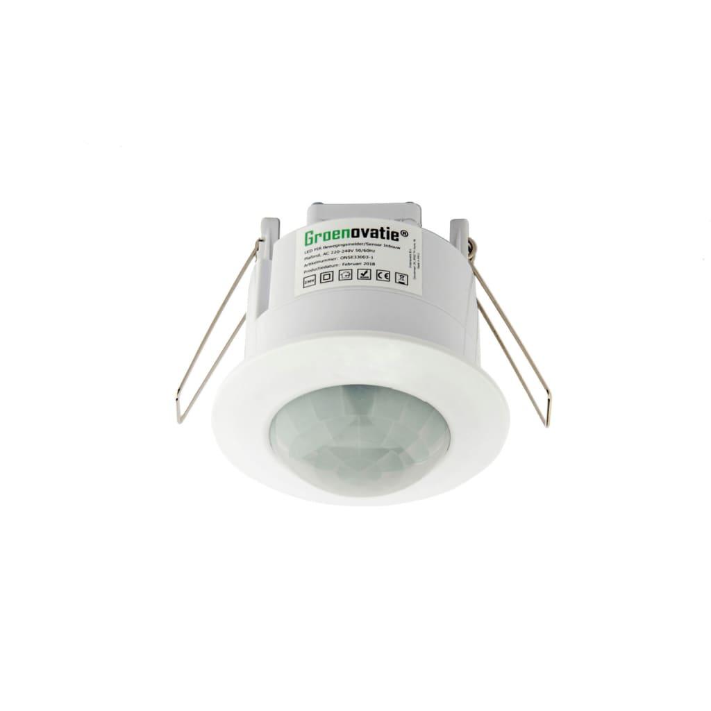 Afbeelding van Groenovatie LED PIR Bewegingsmelder/Sensor Inbouw Plafond