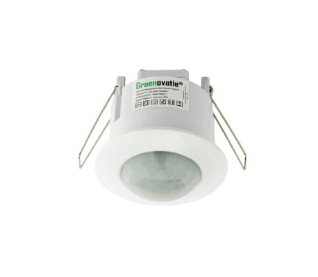 Groenovatie LED PIR Bewegingsmelder/Sensor Inbouw Plafond, IP20, Wit[1/5]
