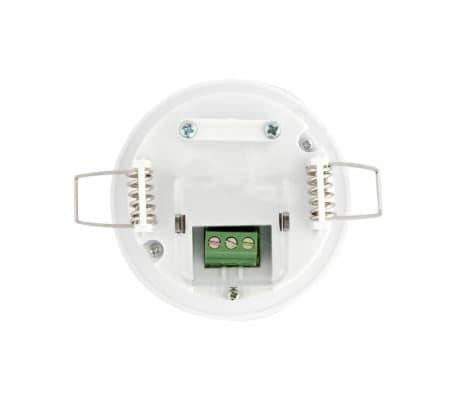 Groenovatie LED PIR Bewegingsmelder/Sensor Inbouw Plafond, IP20, Wit[3/5]