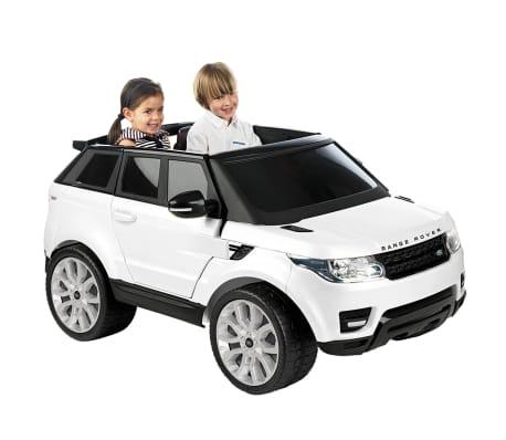 Voiture électrique pour enfant 12 V Feber Range Rover Sport blanc[1/4]