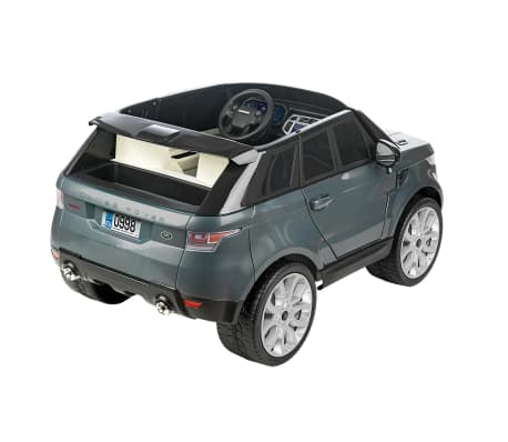voiture lectrique pour enfant 12 v feber range rover sport gris. Black Bedroom Furniture Sets. Home Design Ideas