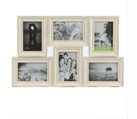 acheter cadre photo nostalgie vintage coconut 6 photos. Black Bedroom Furniture Sets. Home Design Ideas