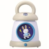 Claessens'Kids My Lantern nattlampe Kid'Sleep hvit 0021