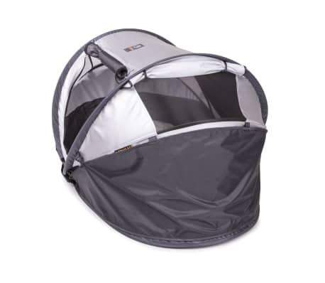 DERYAN Windschutz für Reisebetten Toddler Luxe 110x35x0,5 cm Grau