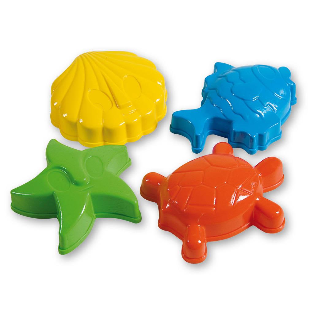 Basic Androni Sandformen Animals 4-teiliges Set