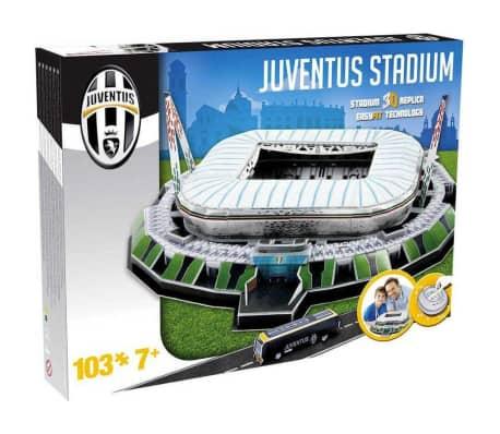 Nanostad Juego de puzzle 3D 103 piezas Juventus Stadium[3/3]
