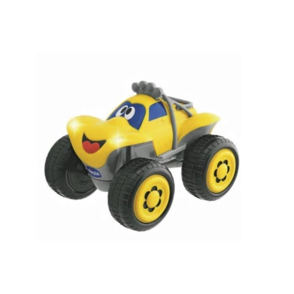 Afbeelding van Chicco Billy Big Wheels RC auto jongens geel 37 cm