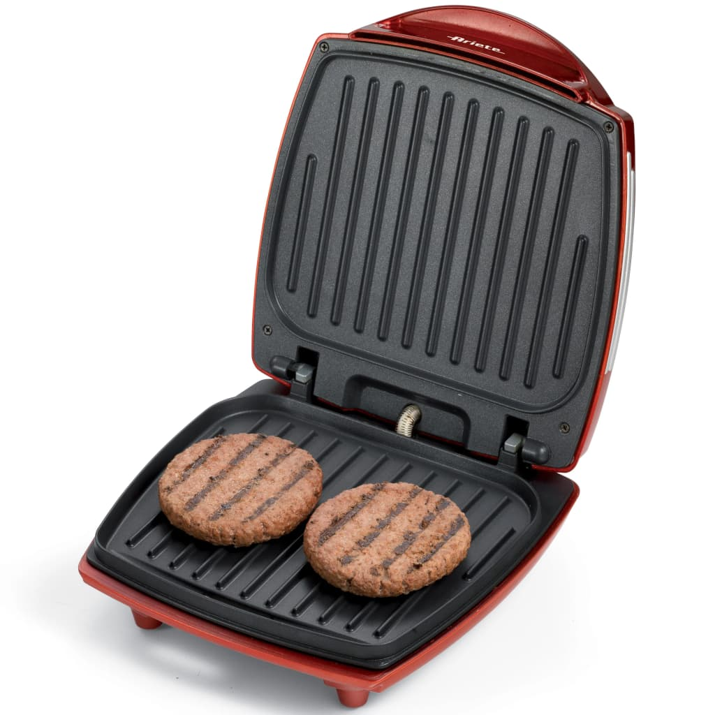 Ariete Retro Hamburger Maker Party Time Rood
