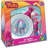 Dreamworks Trolls Melamine Gift Set 3-delig
