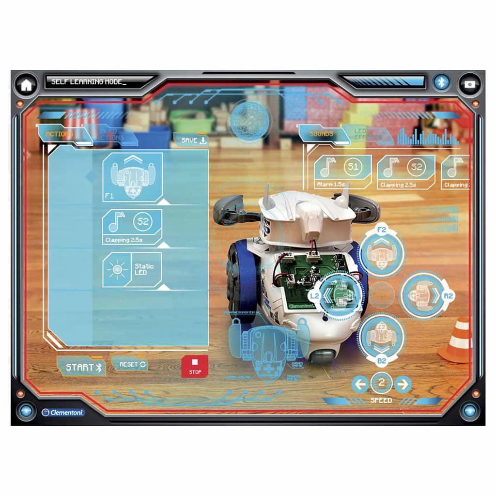 Clementoni Cyber robot Wetenschap & Spel blauw 66664