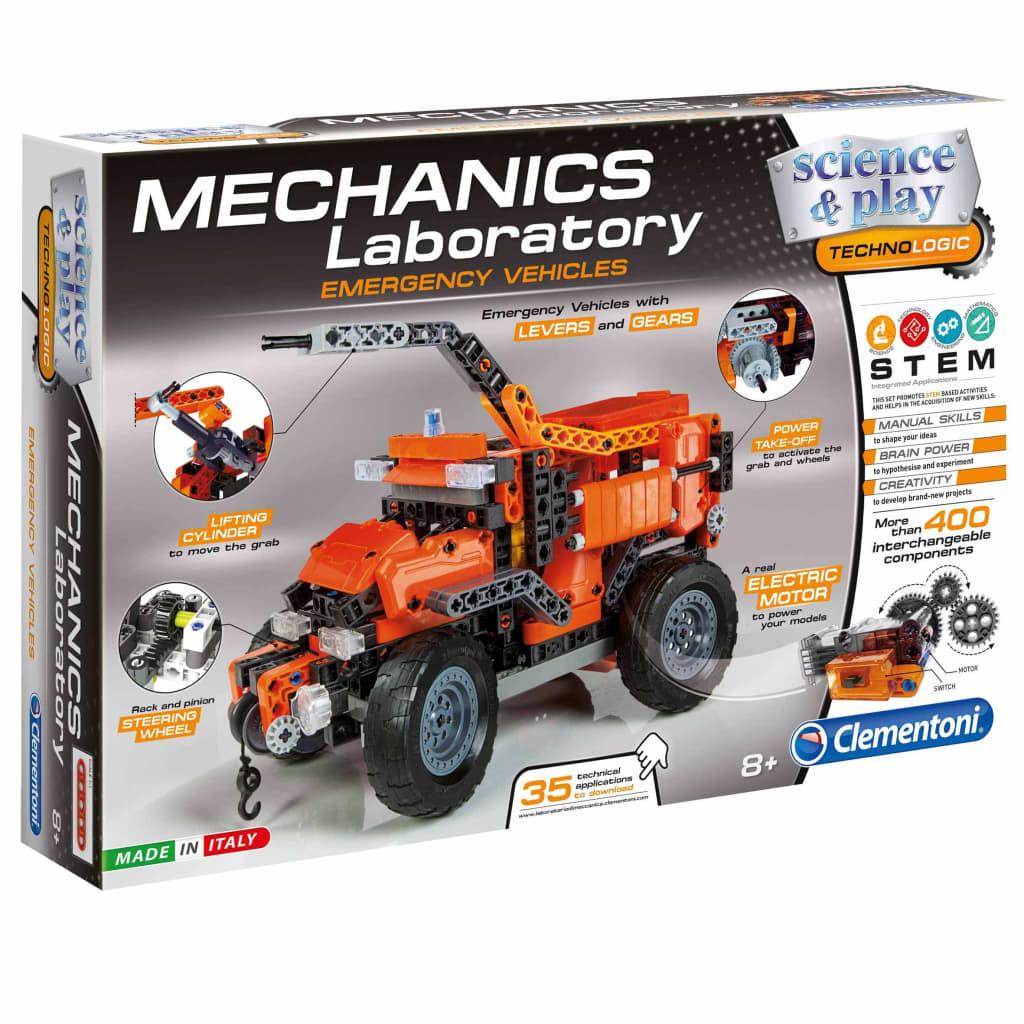 Image of Clementoni Science & Play Laboratorio Meccanica Set Costruzioni 66827