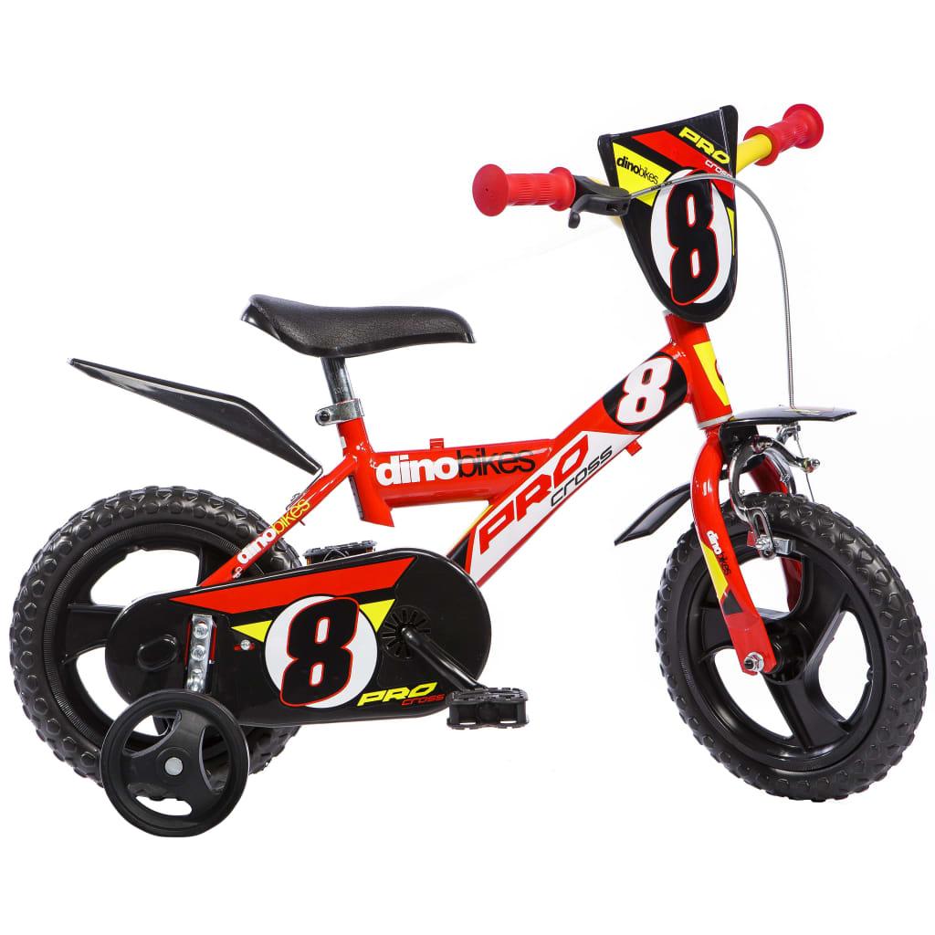 Dino Bikes Kinderfahrrad Pro-Cross Rot 30 cm DINO356004