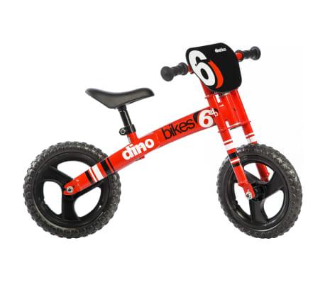 Dino Bikes Loopfiets Runner rood DINO356003