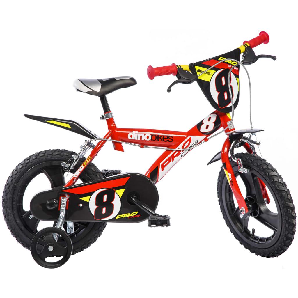 Dino Bikes Kinderfahrrad Pro-Cross Rot 40 cm DINO356005