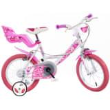 "Dino Bikes børnecykel Little Heart 16"" lyserød DINO356013"