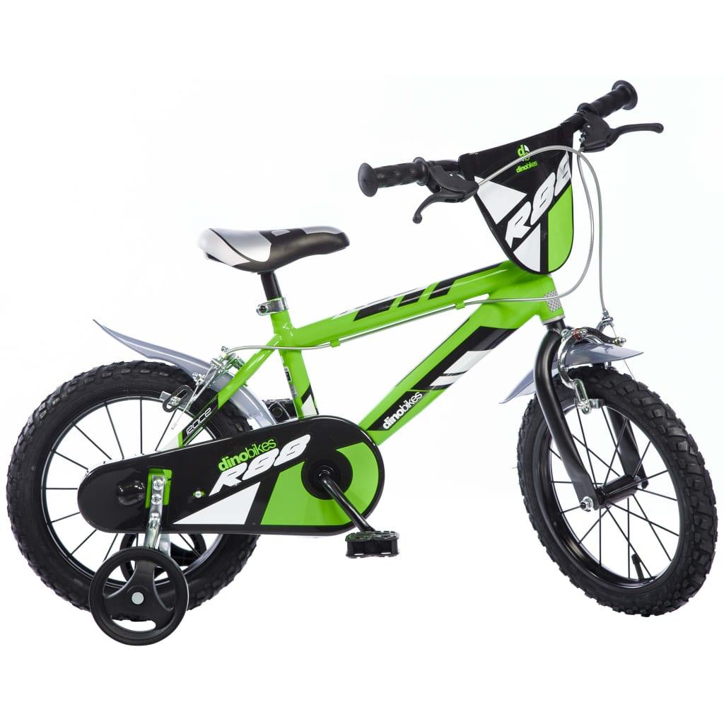 Afbeelding van Dino Bikes Kinderfiets MTB R88 groen 40 cm DINO356007