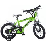 """Dino Bikes børnecykel MTB R88 16"""" grøn DINO356007"""