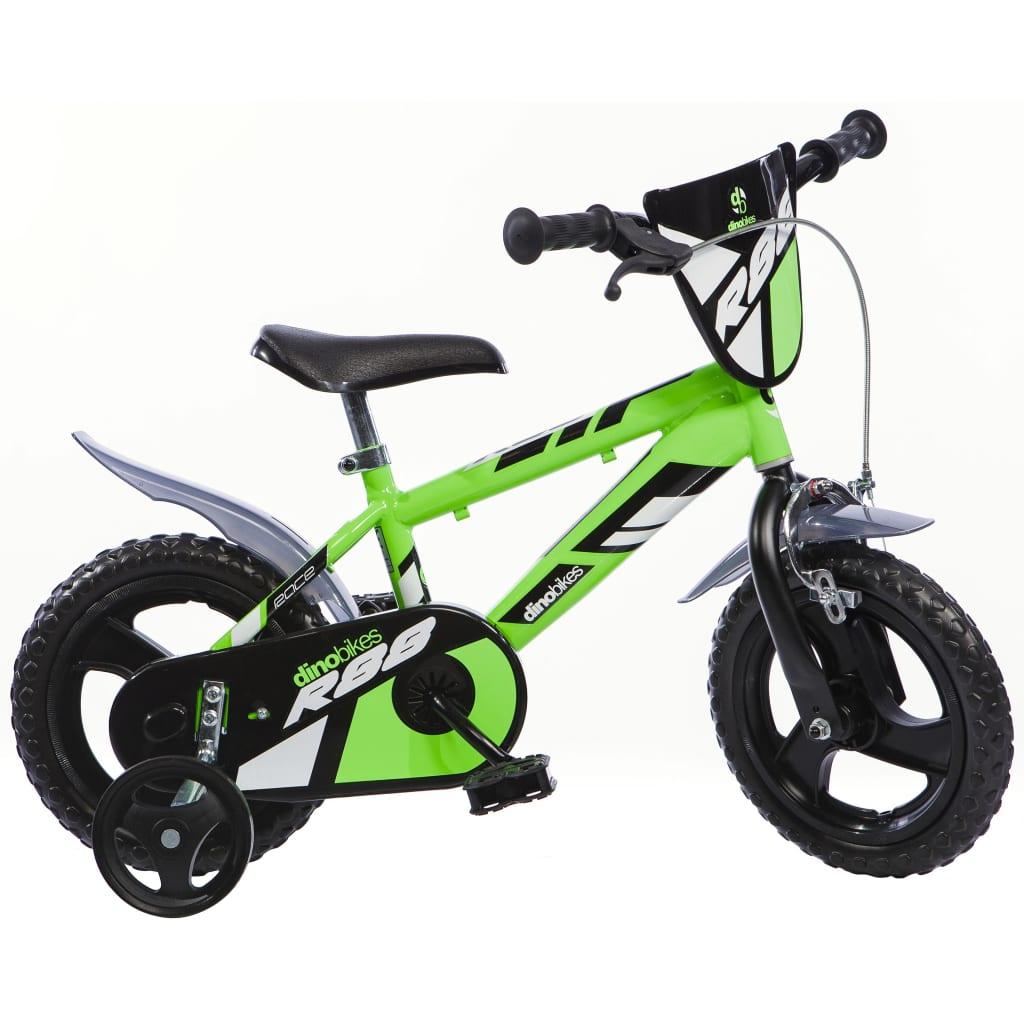 Dino Bikes Barnesykkel MTB R88 grønn 30 cm DINO356006
