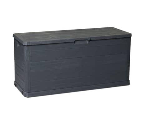 Coffre de rangement WOODY gris 280 litres